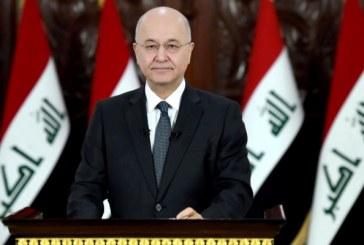 ما رأيك بتلويح رئيس الجمهورية العراقية بالاستقالة ؟