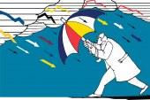 تغير المناخ والمخاطر المالية